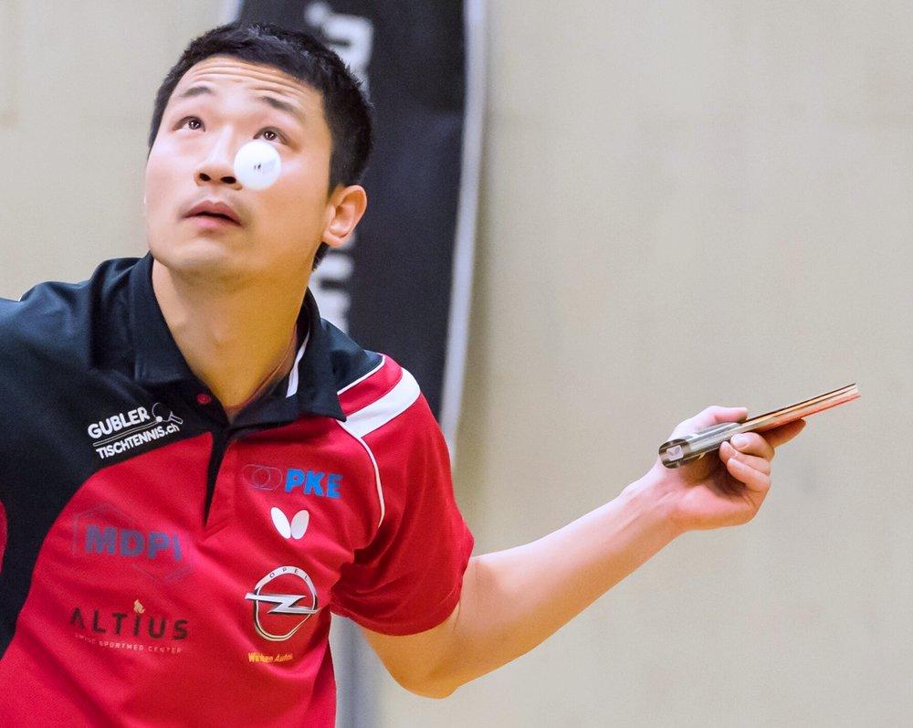 Jiashun Hu zeigte seine ganze Klasse und konnte alle seine Spiele gewinnen.