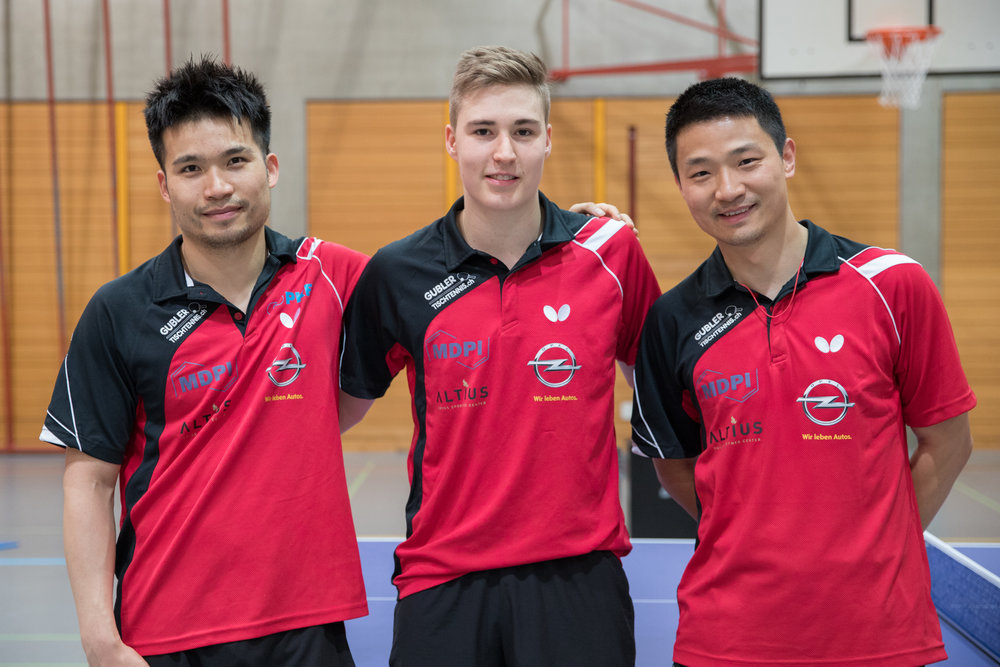 Chengbowen Yang, Cédric Tschanz und Jiashun Hu