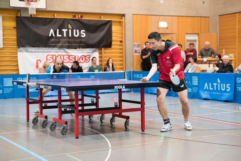 Jiashun Hu konnte gegen Lugano alle seine Partien gewinnen.