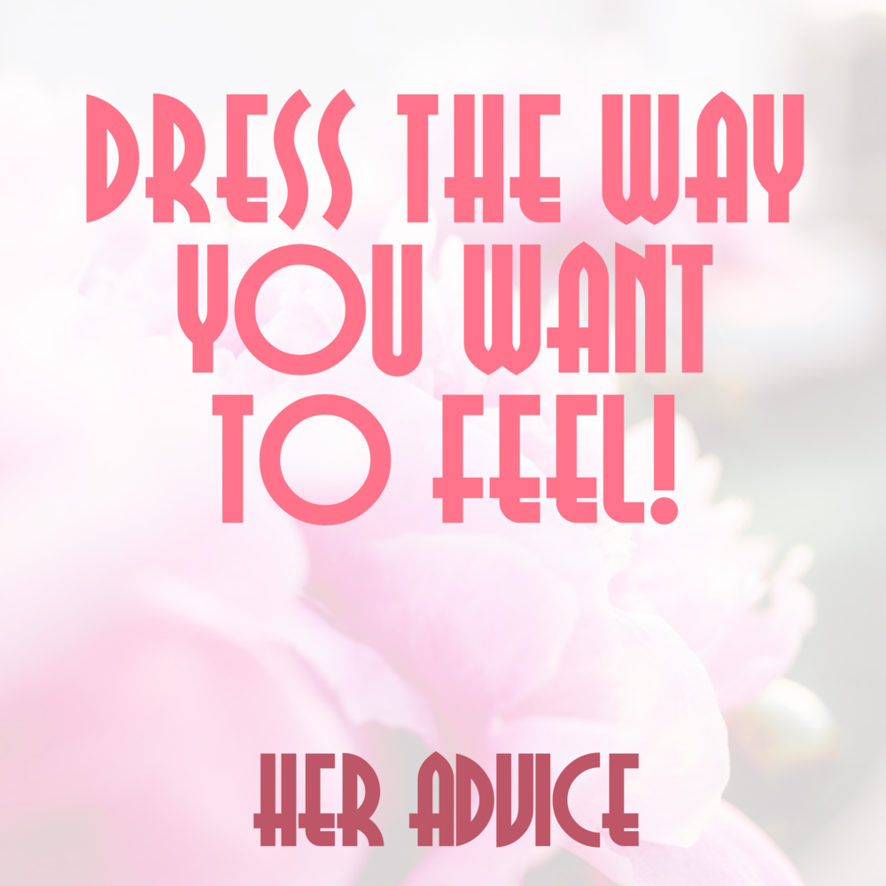 Each week I ask my guest to share the best piece of advice a woman has ever given to them
