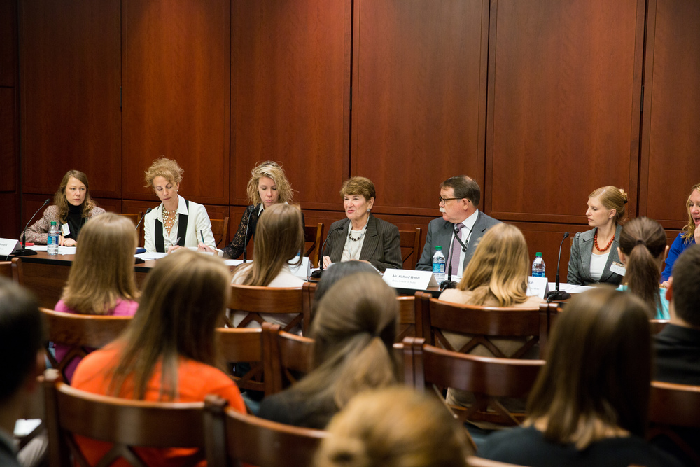 Washington, DC /Ambassador Susan Jacobs speaks to Hill Staff at a Department of State and USCIS Briefing on Inter-country Adoptions.