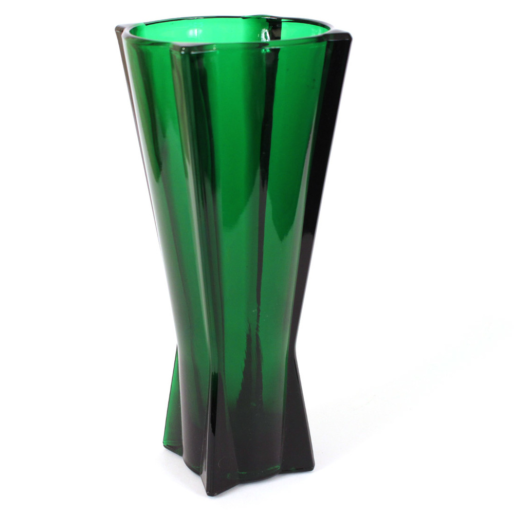 Matched sets the floral vase dramatic emerald glass vases in an iconic 1960s rocket shape one nbspsize reviewsmspy
