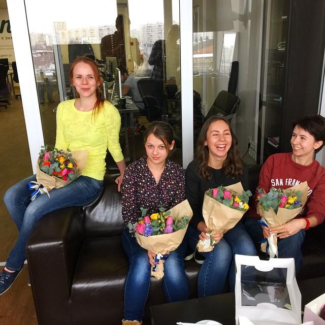 Verdom IT Projects International Women's Day celebration 👭👭