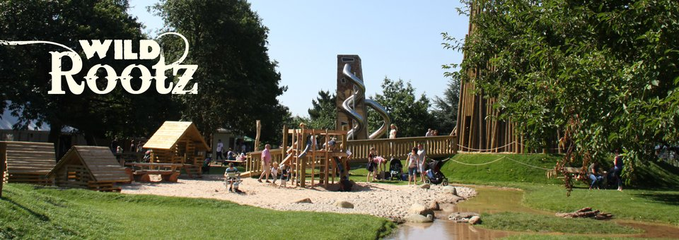 Pensthorpe Wild Rootz adventure playground