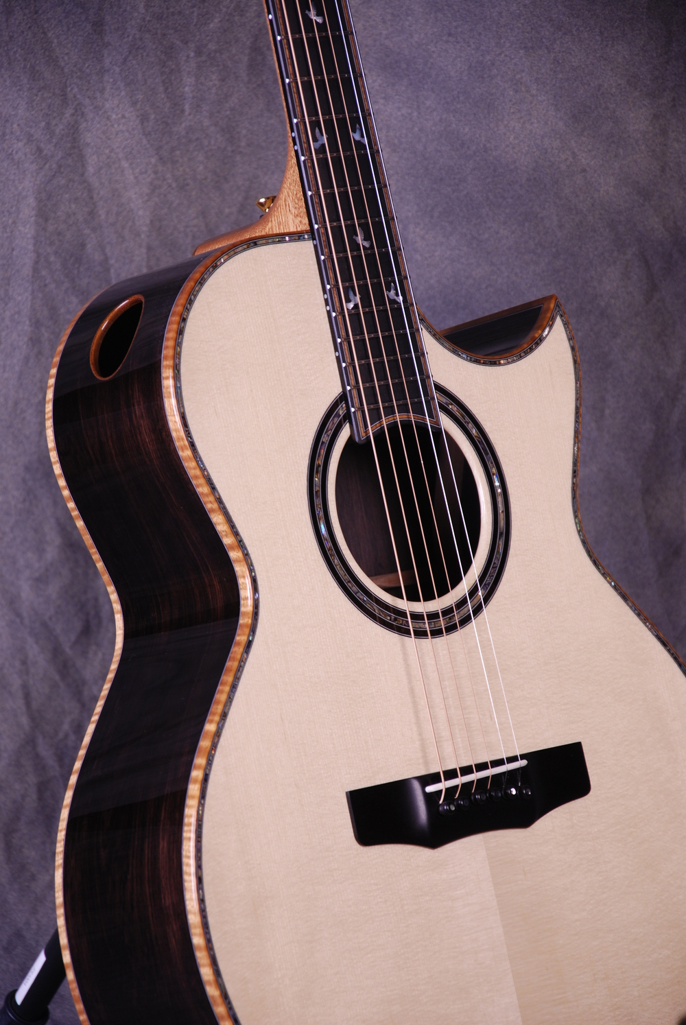 S/N 401 African Blackwood Back/Sides, Italian-Alpine Spruce Top