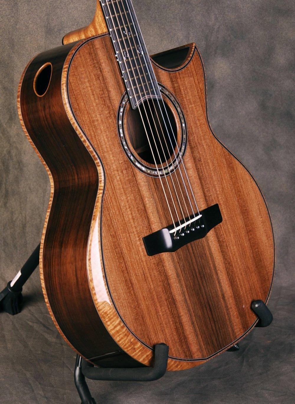 S/N 379 - Brazilian Rosewood Back/Sides, Sinker Redwood Top