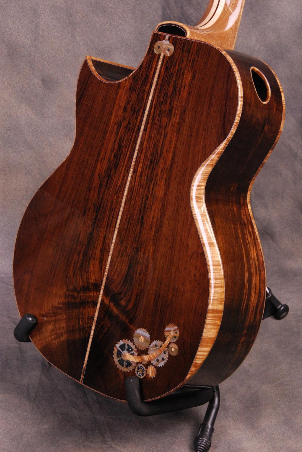 S/N 400 - Brazilian Rosewood Back & Sides, Interior Cedar Top