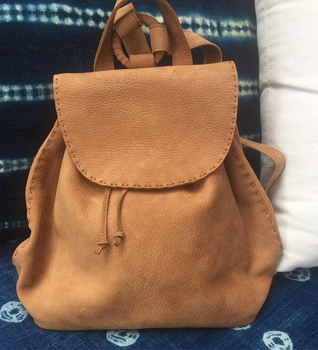 new bags finally!! #backpack #handstitched #madeinperu #betterlatethannever