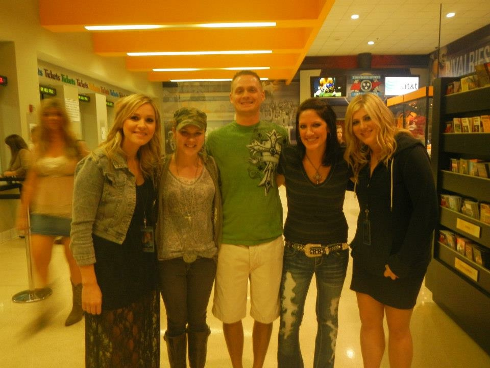 Nashville at Bridgestone arena with some lovely folks!