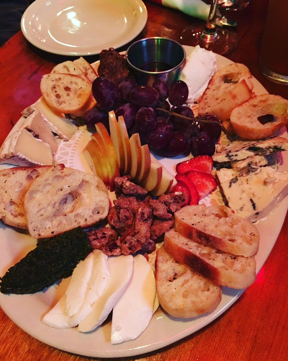 This one is from a restaurant in Killington, Vermont. We'll call this one the  Killing-It Cheese Plate.  It was AMAZING.