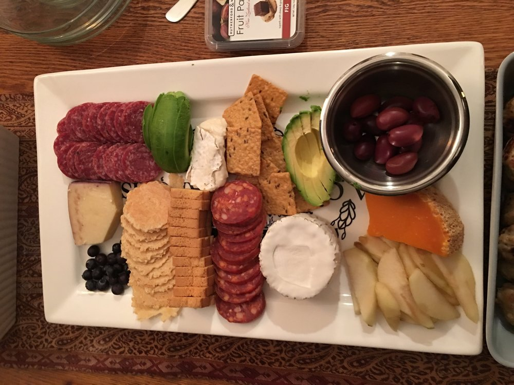 Our friends, the Halberts made this one and it was EPIC. We'll call this one the  Hal-About-That-Cheese-Plate.