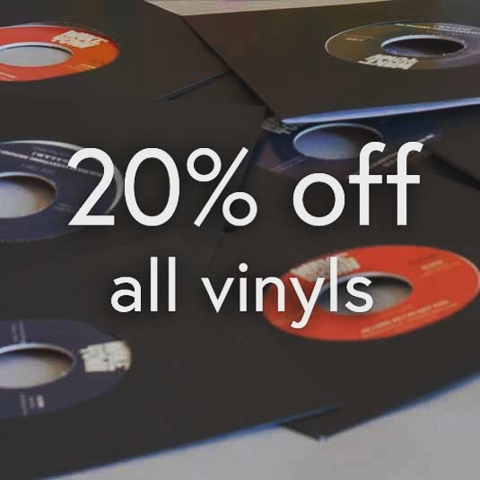 Forget about #blackfriday @apple deals cuz there ain't nuttin', get some #records instead! We're throwing 20% off all our #vinyls until #monday. No code needed just hit our #shop, link in bio ✌️😋 . . . . #vynil #vinyl #20off #sales #ridethesamples #aslongasivegotyou #wutang #hiphop #samples #soulsamples #cratedigging #reggae