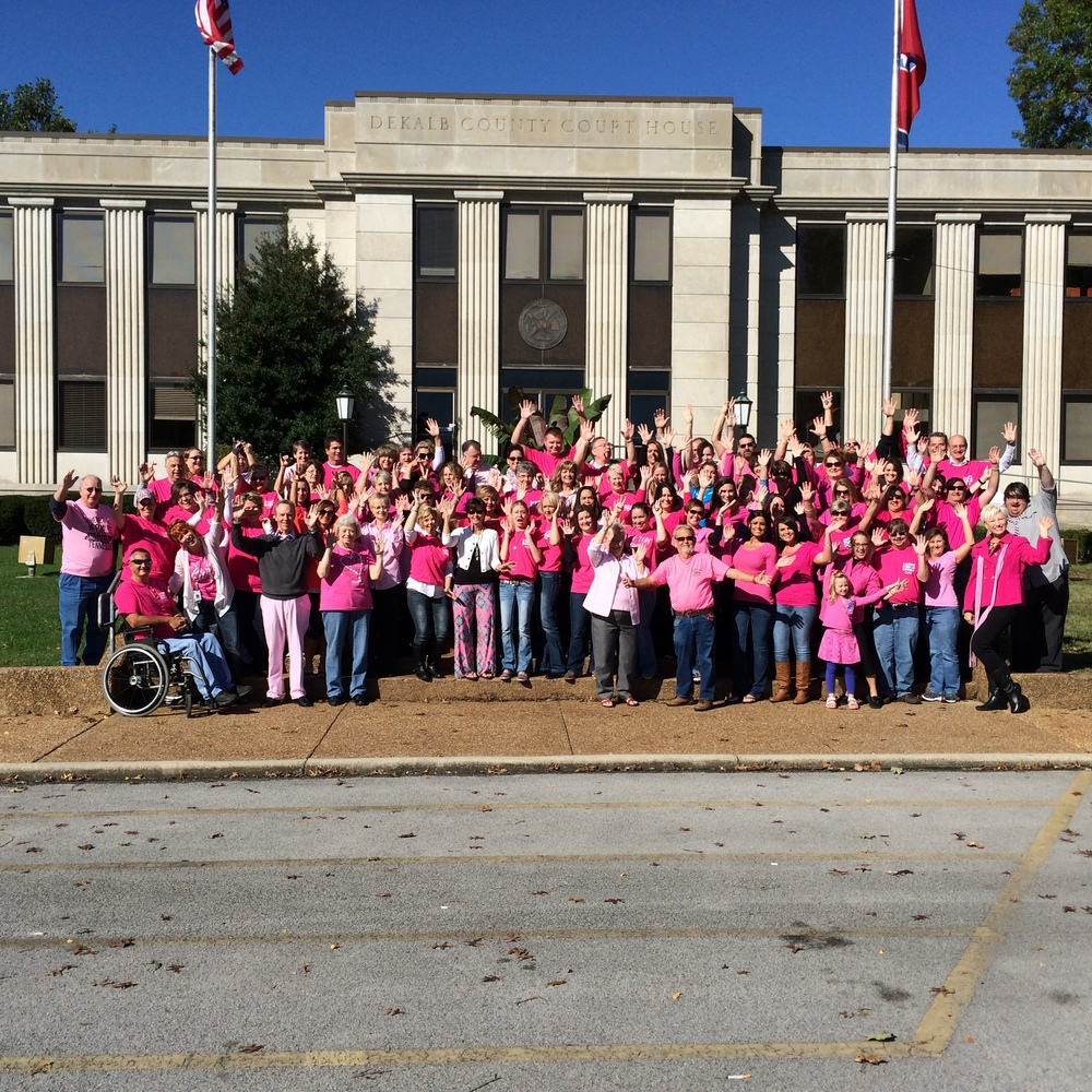 DeKalb County PINK OUT for Cancer !