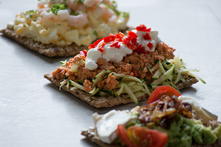 Crisp Breads and Toppings