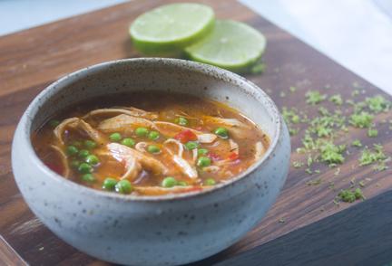 Spicy Turkey Soup