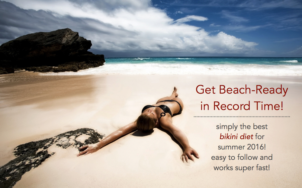 get beach ready in record time fiona kirk diet