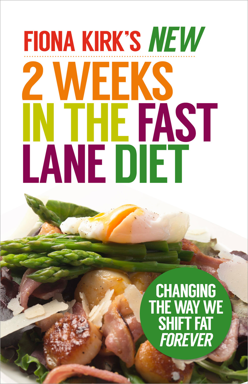 Fiona Kirk's New 2 Weeks in the Fast Lane Diet