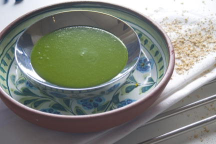 spinach and watercress soup