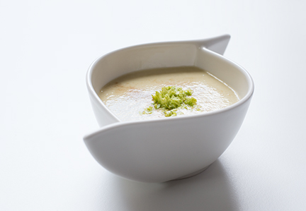 silky-smooth celery soup
