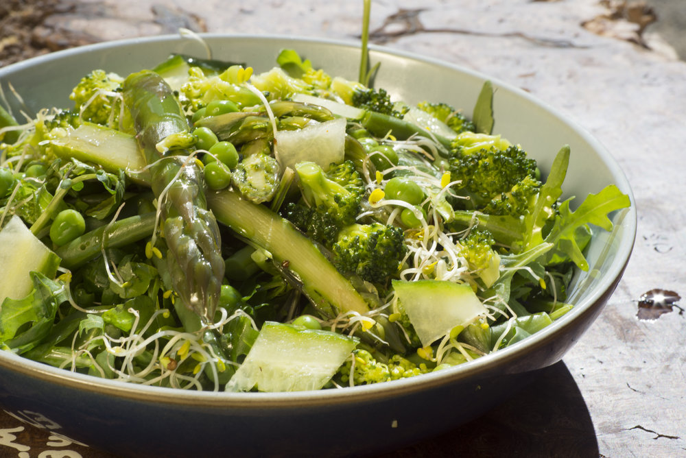 super-green salad