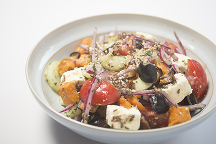 greek salad with a difference