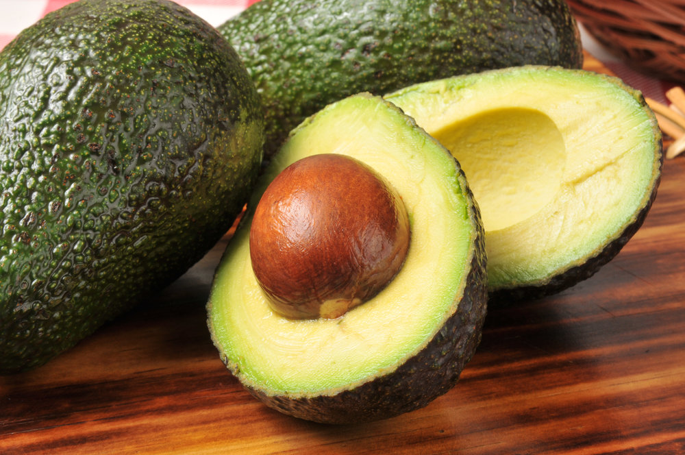 midnight is the perfect time for half a creamy, fat-rich avocado - just stone it and spoon the flesh out of the shell or pile in some tuna or prawns!