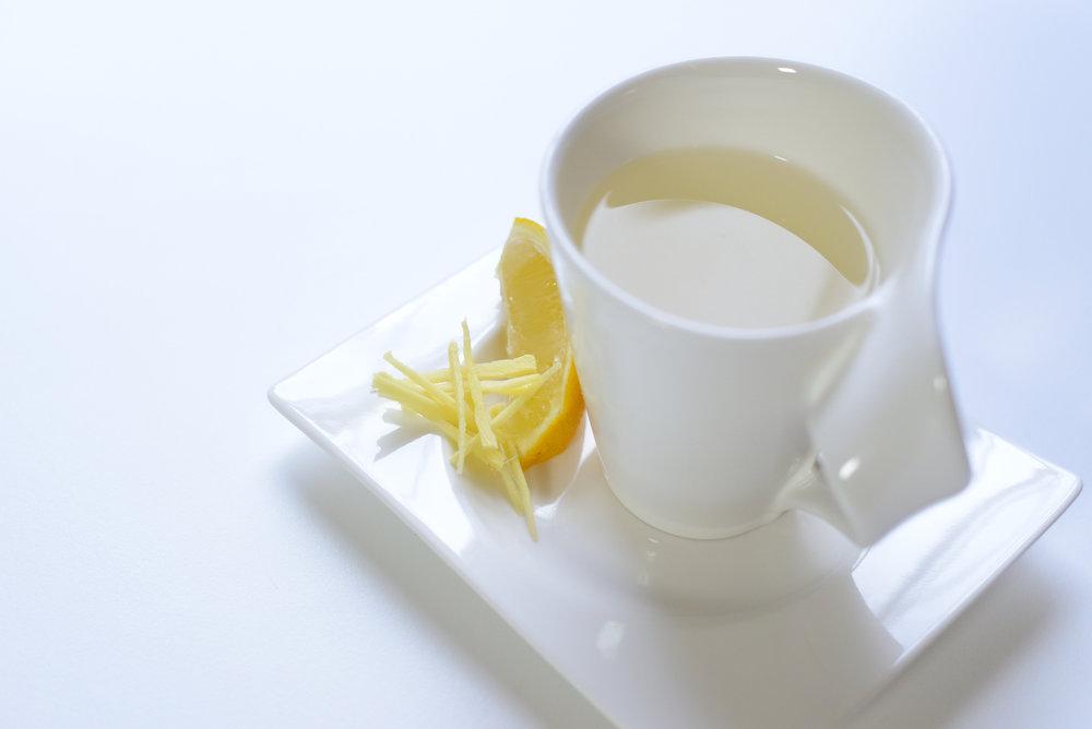 Hot Lemon and Ginger -