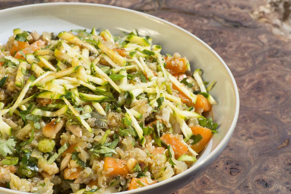 Quinoa Vegetable Bowl -