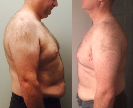 Glenn, down 60lbs in 6 months