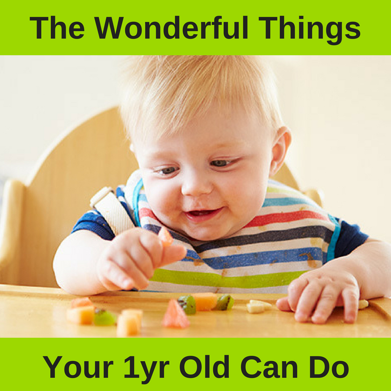 What Can A One Year Old Really Do At Mealtimes?      We Break It All Down For You Here.