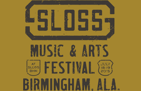 Glad to be a part of the 1st Sloss Music and Arts Festival!