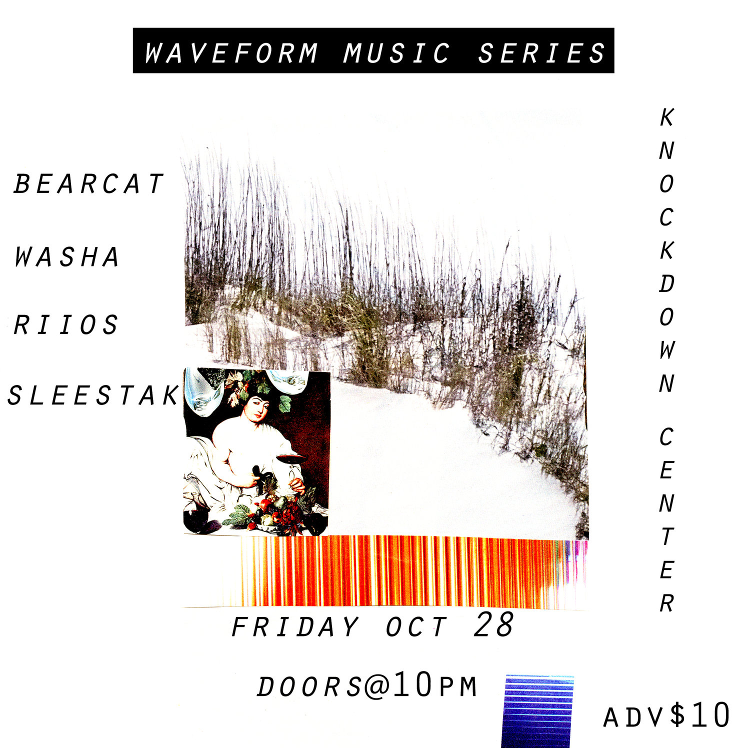 Waveform Music Series Continues Next Friday At Knockdown Center