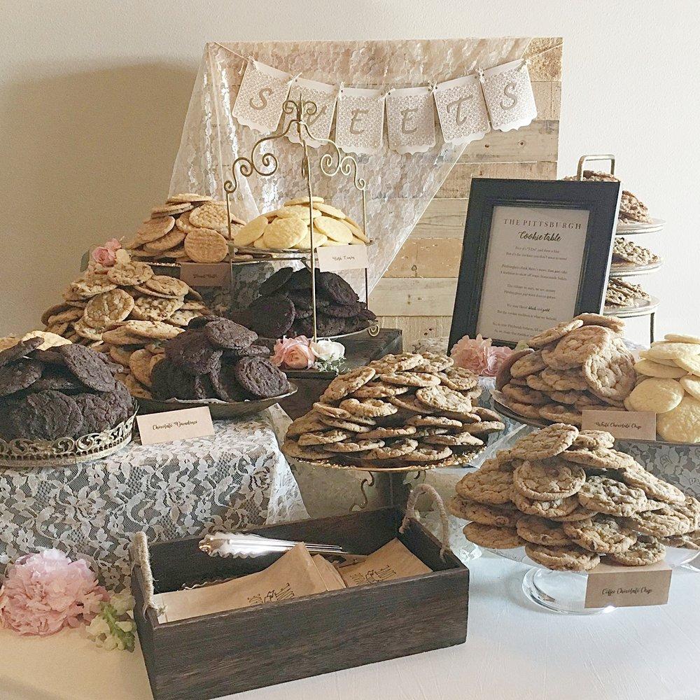 Custom Cookie Tables