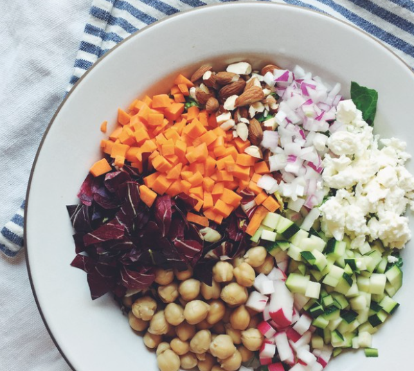 Veggie Chopped Salad -