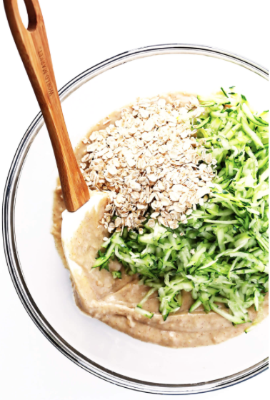 Healthy Zucchini Muffins -
