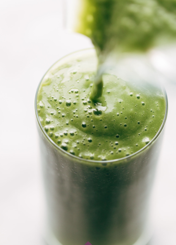 The Best Green Smoothie with Fennel -