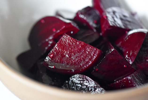 Simple Easy Roasted Beets -