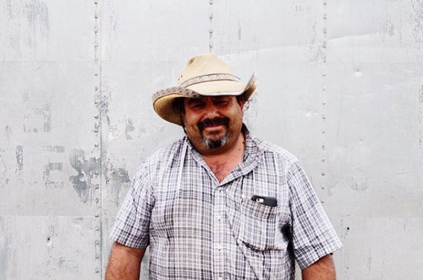 Jose Alcantar of Alcantar Organics. He bought us the mariachi at our wedding and is just an epic dude. He has three different properties he farms; two in Carpinteria and one in Buellton. We helped Jose get certified organic and he's had our back this entire time. You can find his at Ventura and Los Angeles farmers market and at lots of different restaurants around town.
