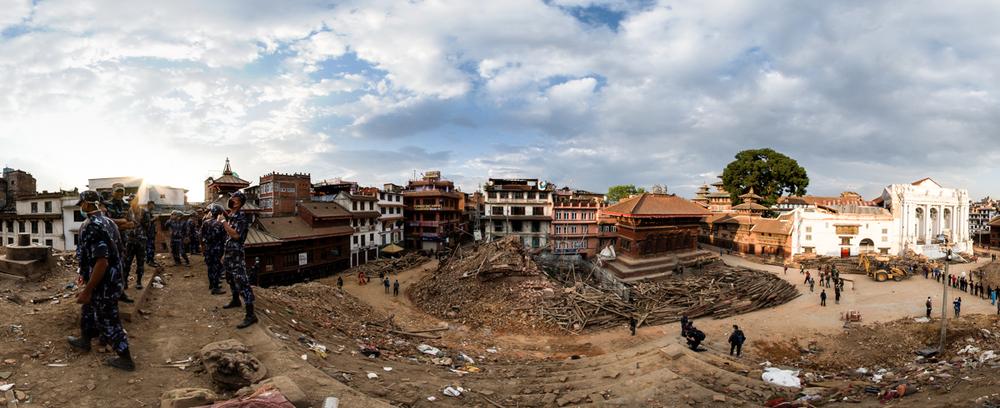 Kathmandu's Destroyed Durbar Square