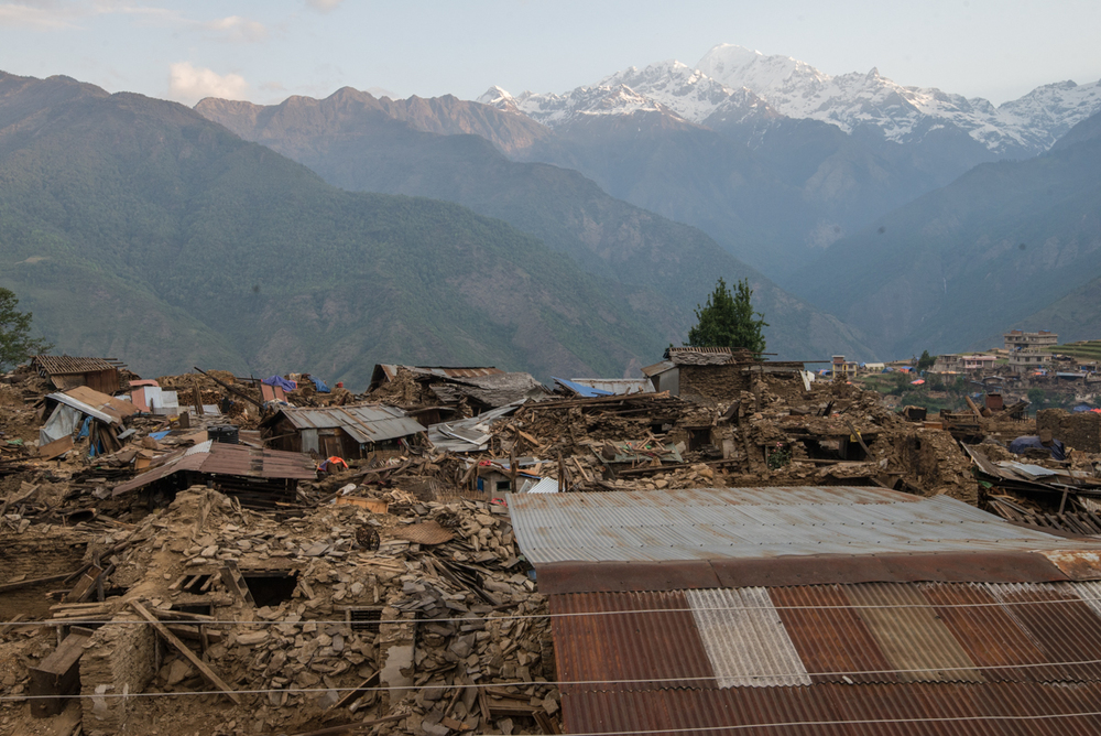 Barpak, the Earthquake's epicenter