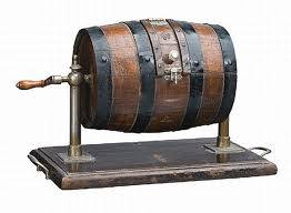 We use a barrel very similar to this to choose the numbers