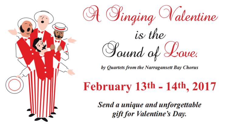 singing valentines narragansett bay chorus - Singing Valentine