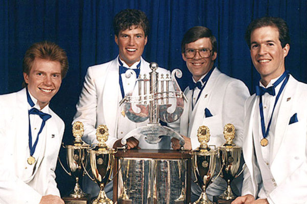 Interstate Rivals, Barbershop Harmony Society 1987 International Quartet Champions
