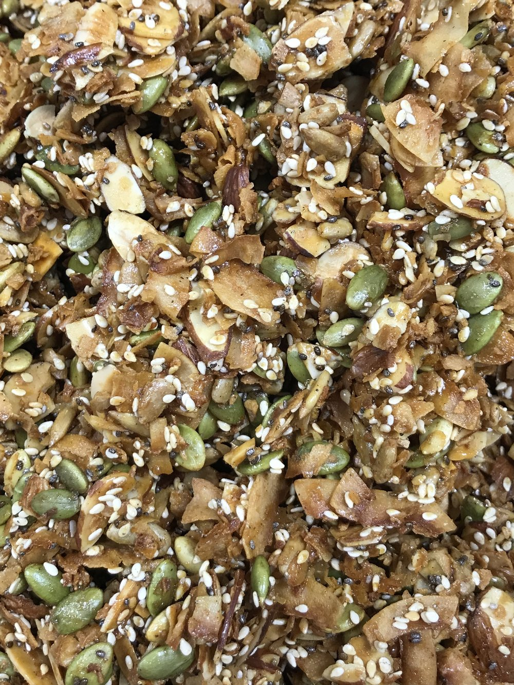 Door County Love's new Paleo Granola