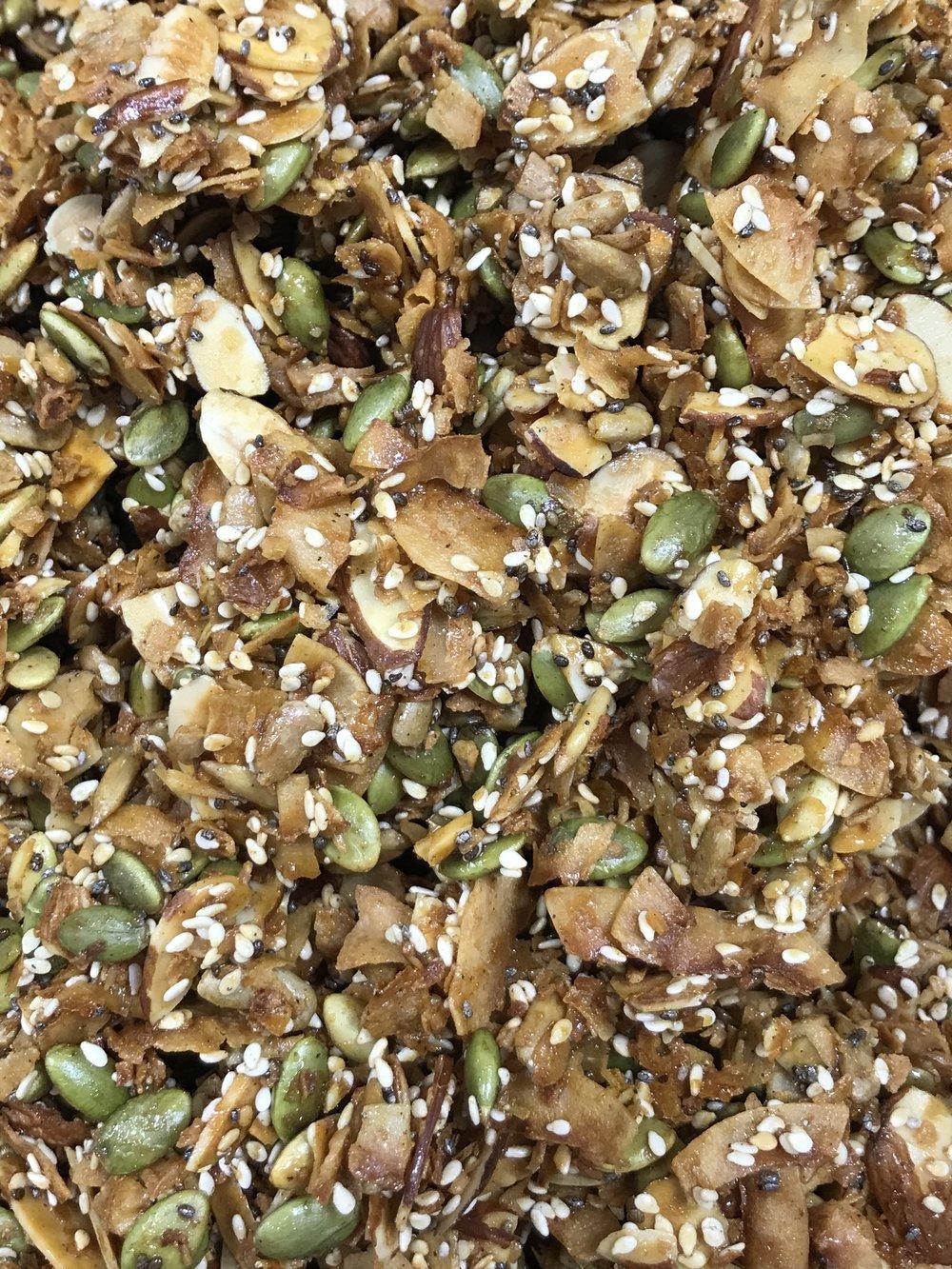 Door County Love's new Paleo Granola