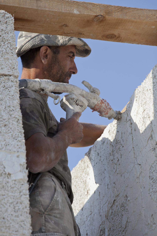 Angel Cellar construction (2) - Sabine Bernert.JPG