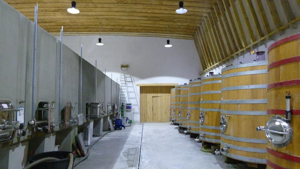 Inside Vinification cellar - Jacques Herviou.JPG