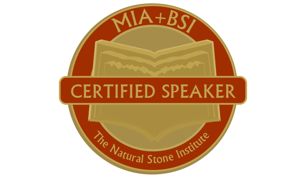 STONE SUPPORT  - We are more than a supplier. Through a partnership with MIA+BSI we offer accredited lunch and learn programs to educate architects on the many ways natural stone is the preeminent building material.We also work hand in hand with design teams to match and discover stone blends that fit their projects aesthetic and technical requirements  - always keeping desired price points in mind.