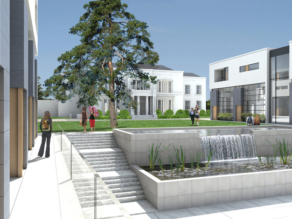 Kilmacud House This exclusive development is located on 1.5 acres in Stillorgan, Co. Dublin and comprises of 38 luxury apartments and duplexes in the grounds of the refurbished and protected period property, Kilmacud House.