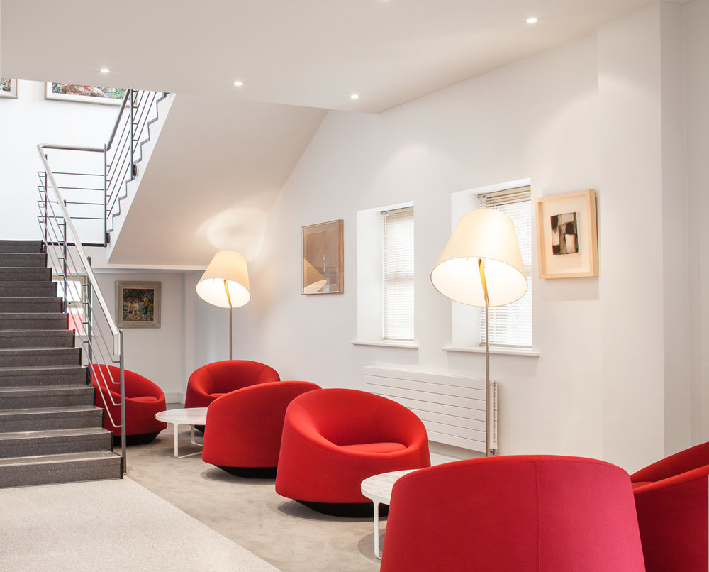 Astellas   Astellas Pharma Co. Ltd asked McCauley Daye O'Connell to upgrade their Dublin offices in Blanchardstown to re-position the design with a modernised interior befitting of a leading global pharmaceutical company.